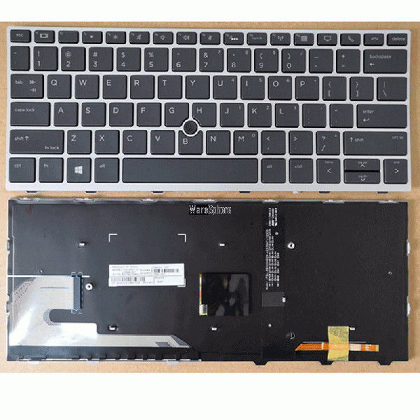Backlit Laptop Internal Keyboard For HP Probook 735 G5 830 G5 836 G5 L13697-001US
